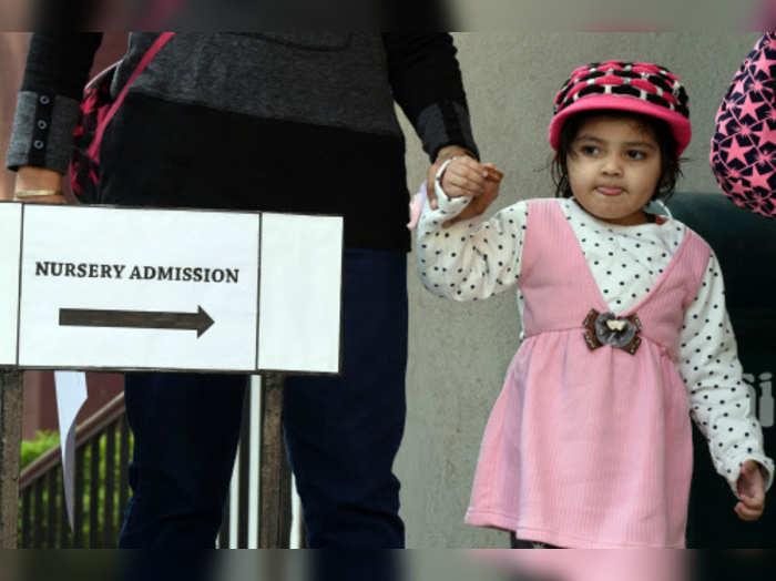 Nursery admission 2020-2021
