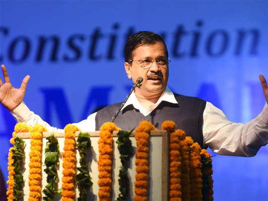 कच्ची बस्तियों को लेकर केजरीवाल ने BJP पर साधा निशाना
