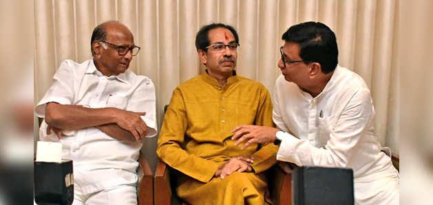 महाराष्ट्र: शिवसेना-NCP-कांग्रेस ने कॉमन मिनिमम प्रोग्राम किया जारी