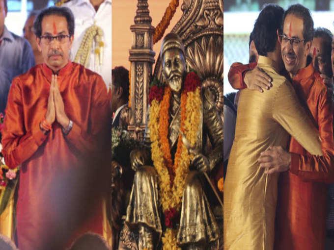 महाराष्ट्र सीएम की शपथ- मी उद्धव बाला साहेब ठाकरे