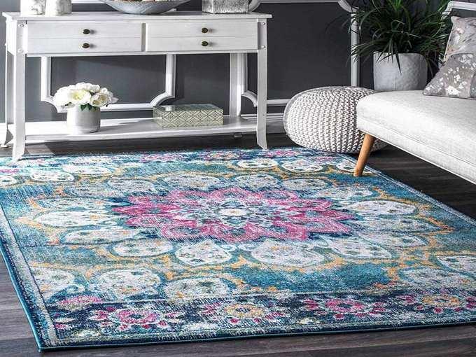 staus feet multi purpose printed carpet rag