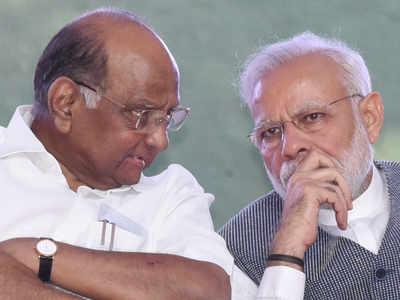 शरद पवार और पीएम मोदी (फाइल फोटो)
