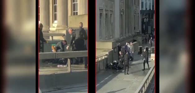 लंदन ब्रिज पर चाकूबाज़ी, पुलिस ने हमलावर को मार गिराया