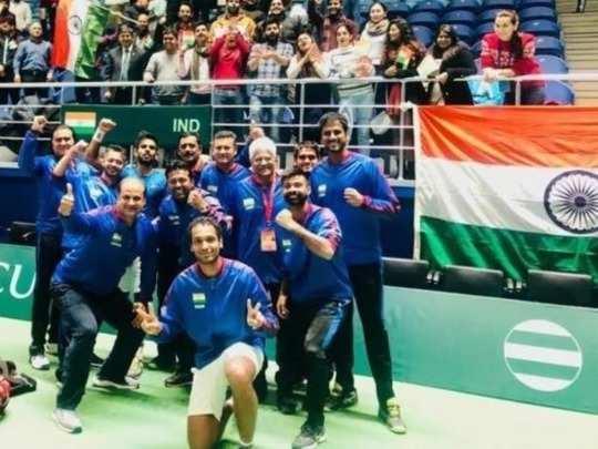 Davis Cup_ பாகிஸ்தானை வெளுத்துக் கட்டிய இந்தியா