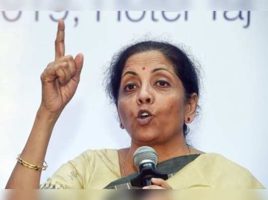 Chennai: Union Minister for Finance and Corporate Affairs Nirmala Sitharaman del...
