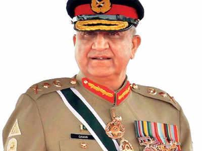 पाकिस्तान के आर्मी चीफ जनरल कमर जावेद बाजवा।