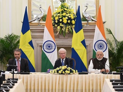 स्वीडन किंग 5 दिवसीय भारत दौरे पर, PM मोदी के साथ की द्विपक्षीय बैठक