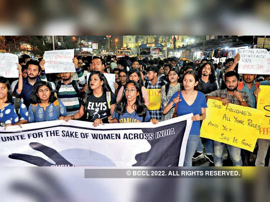 Kolkata is protesting against Rape