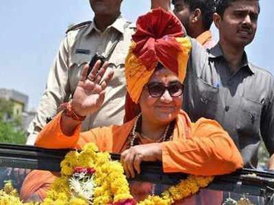 बीजेपी विधायक ने साध्वी प्रज्ञा को बताया भगवा शेरनी