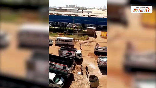 sudan fire accident video in social media