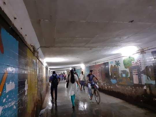 Dahisar Subway Leakage Problem