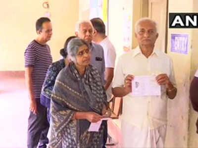 कर्नाटक उपचुनाव के लिए वोटिंग