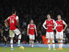 arsenal beaten by brighton in interim manager freddie ljungbergs first home match in charge