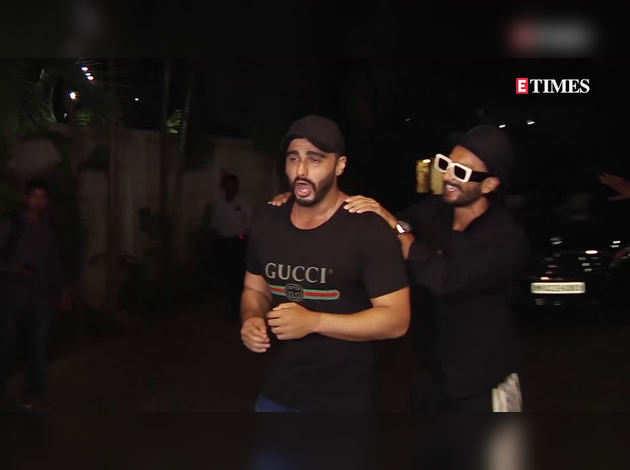 रणवीर सिंह ने अर्जुन कपूर संग शेयर की सेल्फी