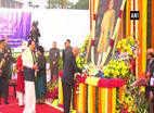 அம்பேத்கர் நினைவு தினம்: ராம்நாத் கோவிந்த, மோடி மரியாதை