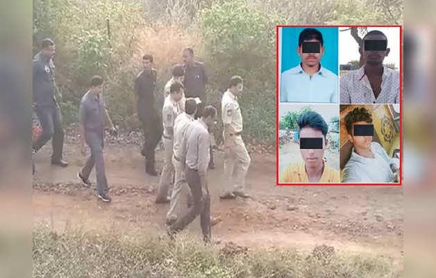 एनकाउंटर में मारे गए हैदराबाद रेप केस के चारों आरोपी