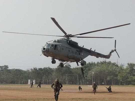 भारत -श्रीलंका मित्रशक्ती सरावाला सुरुवात