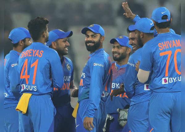 हैदराबाद में टीम इंडिया ने बनाए ये रेकॉर्ड