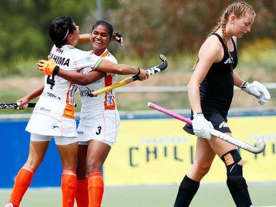 india vs australia women hockey