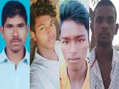 telangana rape case police suspect the four accused may have committed multiple crimes