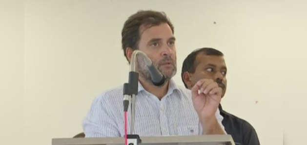 भारत को दुनिया के रेप कैपिटल के रूप में जाना जाता है: राहुल गांधी
