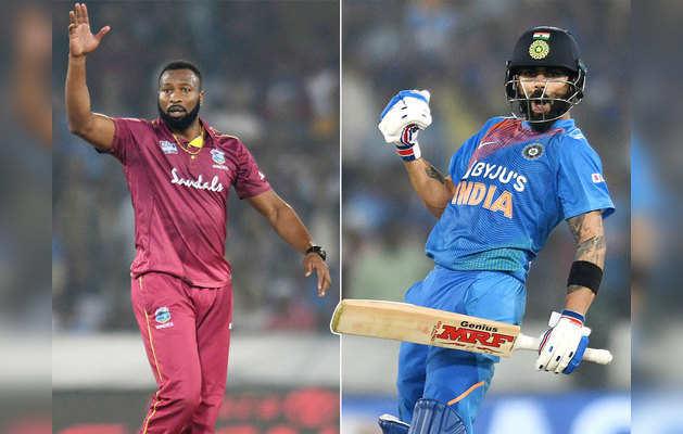 T20I: भारत और विंडीज में भिड़ंत आज, जानें कौन है भारी