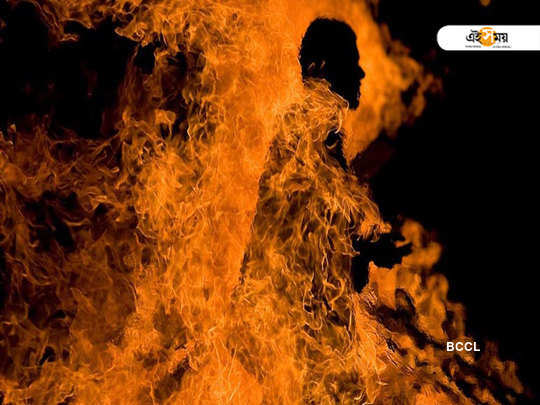 Goon sets shopkeeper on fire over Rs 11 dues in Rura, Kanpur