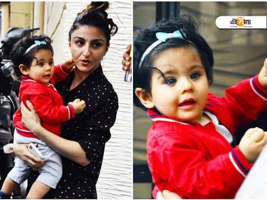 Soha Ali Khan went from house to house this Diwali, warning people not to burst crackers to make sure Inaaya doesn't wake up from her sleep
