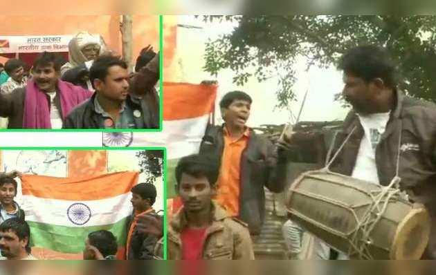 नागरिकता संशोधन विधेयक: पाकिस्तान से आए हिंदू शरणार्थियों ने दिल्ली के मजनूं का टीला में मनाया जश्न