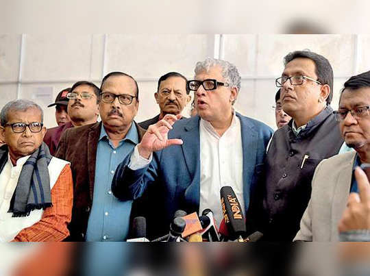 TMC MPs attack Amit Shah in parliament