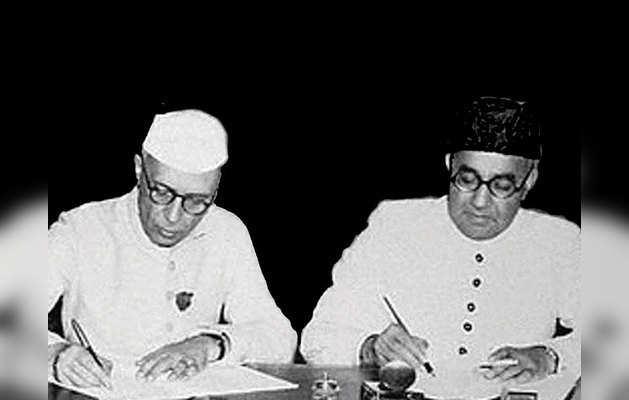 नेहरू-लियाकत समझौते पर संसद में पहले भी चर्चा
