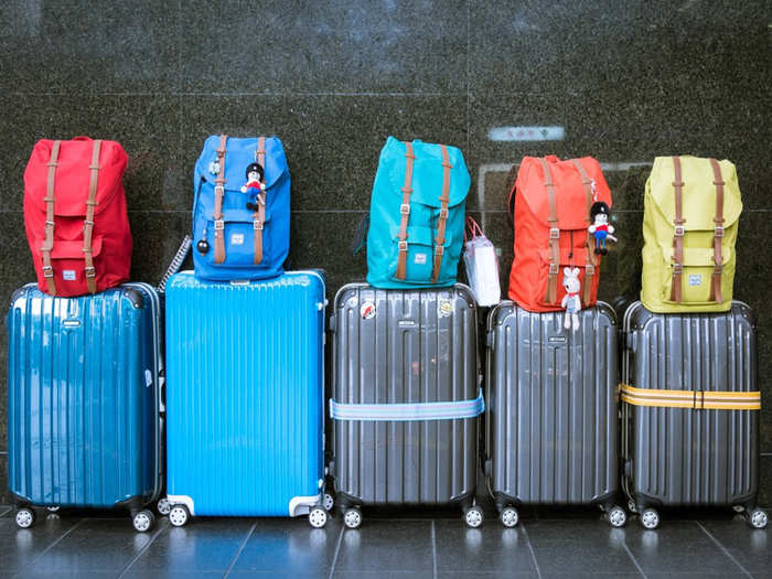 Suitcase bag on amazon