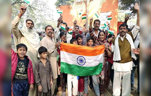नागरिकता बिल से हिंदू शरणार्थियों में खुशी।