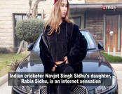 नवजोत सिंह सिद्धू की बेटी बनीं इंटरनेट सेंसेशन