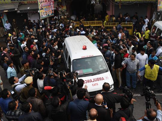 संसद में उठा दिल्ली के अनाज मंडी आग का मामला