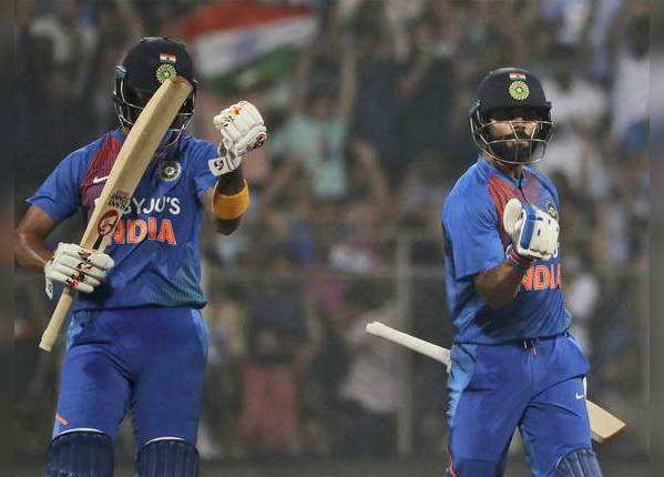 भारतीय बल्लेबाजों का जलवा