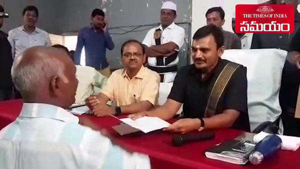 jagtial farmer receives bribe money return with the help of district collector