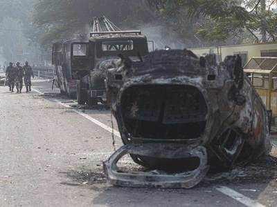 नागरिकता संशोधन कानून (CAA) के खिलाफ असम के कई हिस्सों में हिंसा और आगजनी की घटनाएं हुई हैं