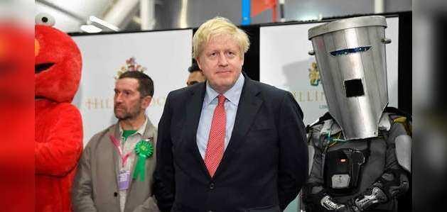 ब्रिटेन चुनाव: शानदार जीत की तरफ बढ़ रहे पीएम बोरिस जॉनसन