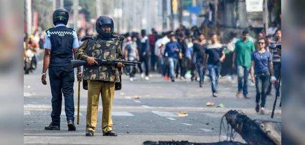CAB को लेकर जल रहा असम, पुलिस फायरिंग में दो की मौत