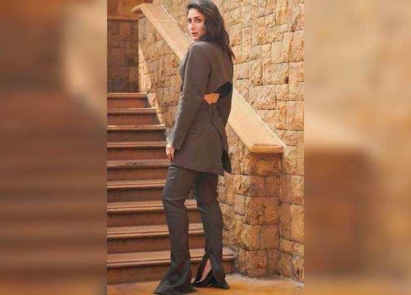 फिल्म प्रमोशन के दौरान करीना का सेक्सी लुक