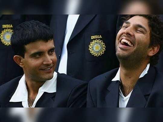 Sourav and Yuvraj