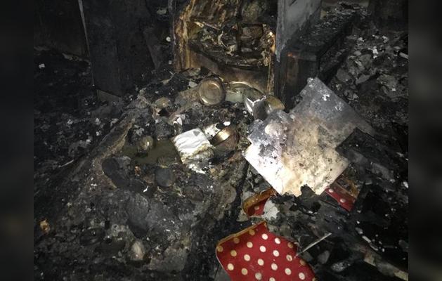 राजधानी दिल्ली के शालीमार बाग के मकान में लगी आग, 3 महिलाओं को मौत