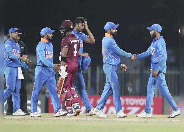 विंडीज ने जीता मैच, सीरीज में बनाई बढ़त
