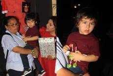 क्रिसमस पार्टी में पहुंचा करीना का नन्हा नवाब तैमूर