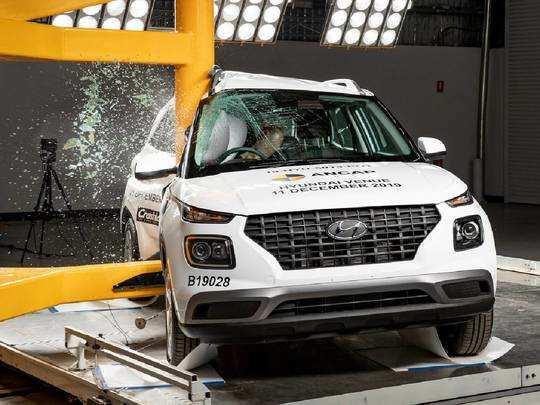 Hyundai Venue Crashtest