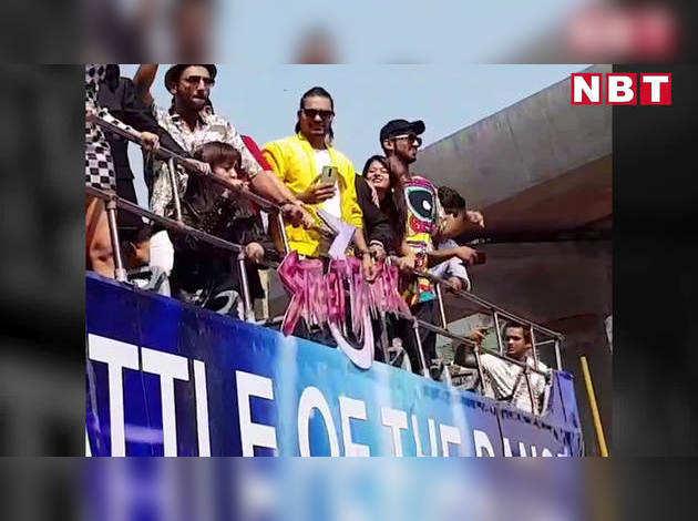 मुंबई की सड़कों पर वरुण, श्रद्धा और नोरा फतेही का क्रेज़ी डांस!