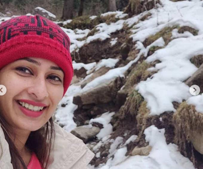 प्रिया मराठे हिमाचलमध्ये करतेय सुट्ट्या एन्जॉय