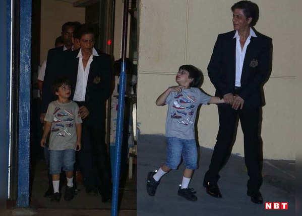 शाहरुख खान का अपने बच्चों के प्रति लगाव