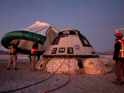 घड़ी हुई खराब, छह दिन पहले ही धरती पर लौटा बाइंग का मानवरहित अंतरिक्षयान